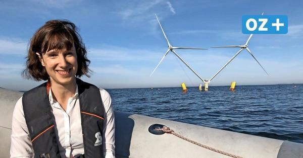 Hingucker im Hafen von Vierow: So funktioniert die Windkraft-Innovation Nezzy²