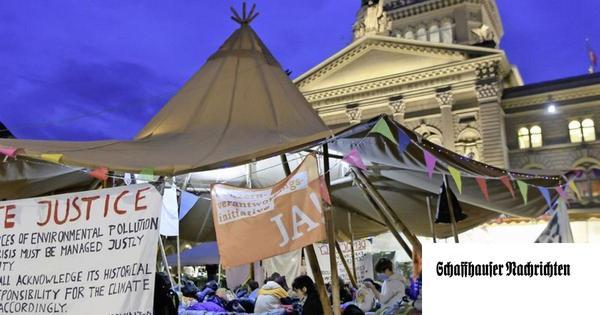 Klimaaktivisten spalten das Parlament