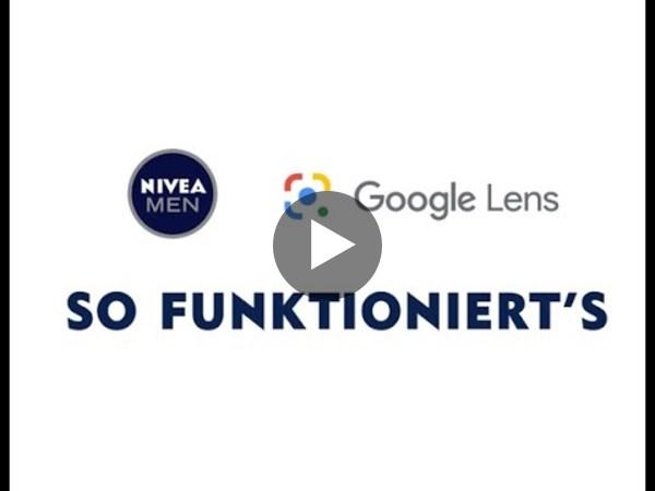 NIVEA MEN en Google Lens promo actie