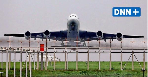 Airbusriese A380 geht in Dresden in die Luft – wohl für lange Zeit zum letzten Mal