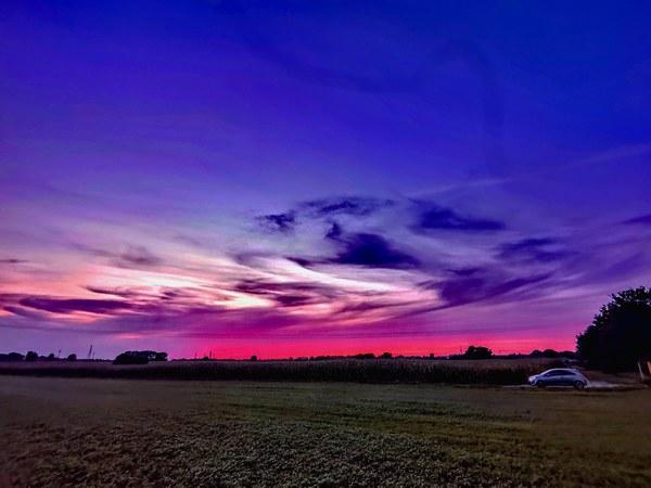 Die schönste Stunde des Tages (Foto: Kevin Dentz)