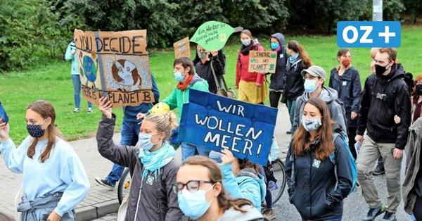 Klimastreik in Rostock: 500 Demonstranten fordern schnelles Handeln wie in Corona-Krise