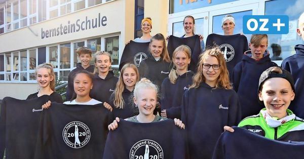 Ribnitz: Bernsteinschule würdigt ihre Turn-Asse
