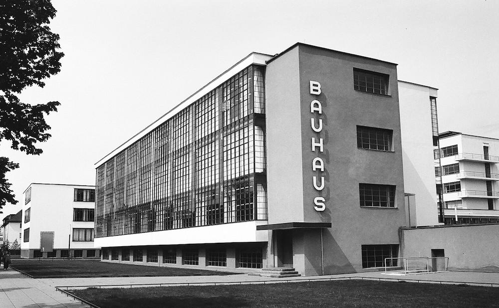 The Bauhaus School in Weimar, Germany (photo via Flickr)