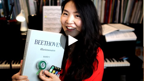 Are you also reluctant to directly mark an original score like me? Share some of your methods.