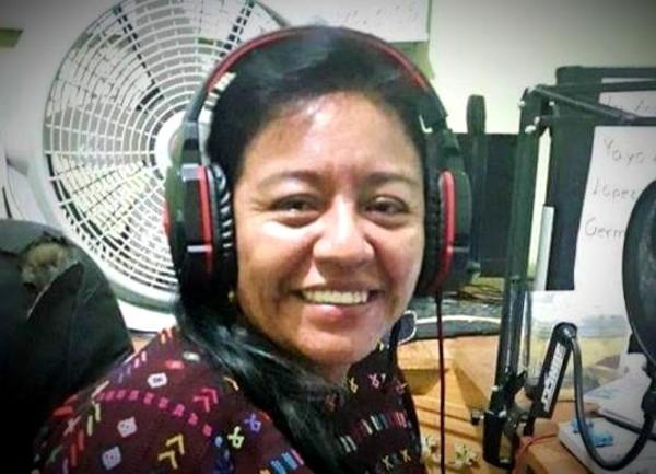 Journalist Anastasia Mejía Tiriquiz was detained on September 25. Photo by Prensa Comunitaria