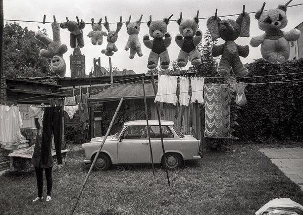 """Waschtag"", 1988. Foto: Klaus D. Fahlbusch"