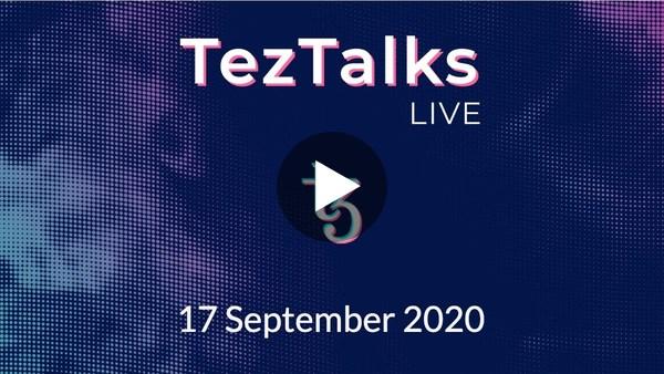 TezTalks Live #11 - Harbinger