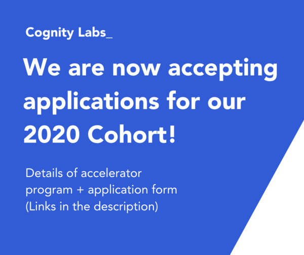 Cognity Labs' Virtual Accelerator Program