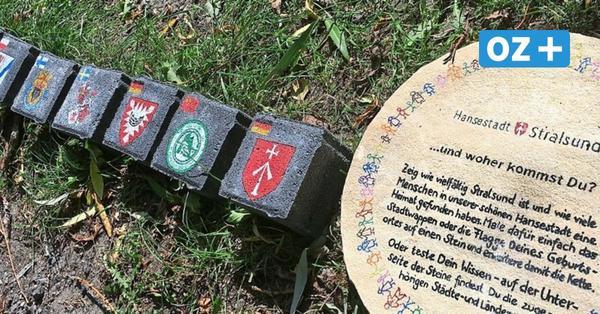 Stralsunds lange Schlange: Steine für Kette rund um den Frankenteich gesucht