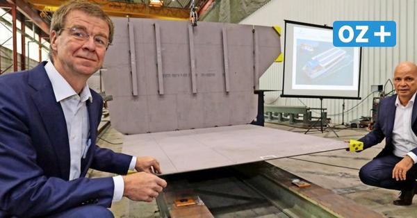 Solarzellen statt Dieselqualm: Stralsunder bauen neue Öko-Fähre für Rostock