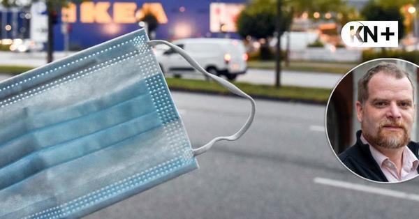 Ikea Kiel wirft Maskengegner raus