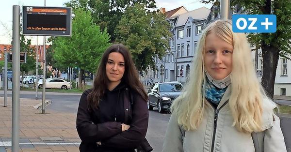 Bus-Streik in der Region Greifswald: Fahrrad statt Bus: So lief der Warnstreik im öffentlichen Dienst
