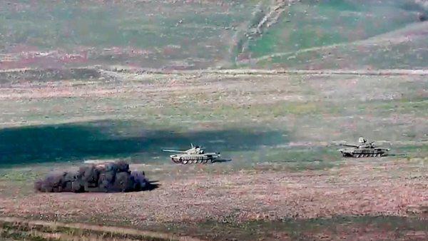 Konflikt: Armenischer Kampfjet soll abgeschossen worden sein