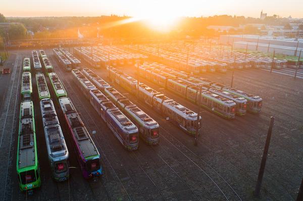 Ein Tag ohne Üstra: Wie in Hannover Stadtbahnen und (fast) alle Busse stillstehen