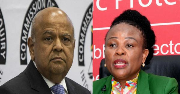 Gordhan and Mkhwebane face off in High Court | eNCA
