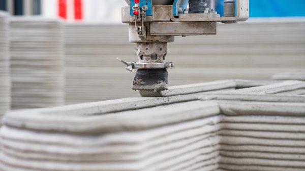 In Rekordzeit: In Nordrhein-Westfalen entsteht das erste Wohnhaus aus dem 3-D-Drucker