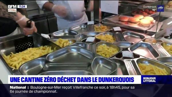 Une cantine zéro déchet dans le Dunkerquois - Refter zonder afval in Dunkerque