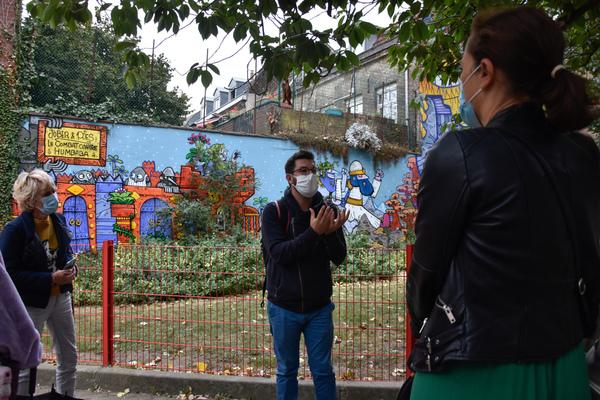 Visitez Lille autrement avec le Collectif Renart - Ga op stap door Rijsel met het street art collectief Renart