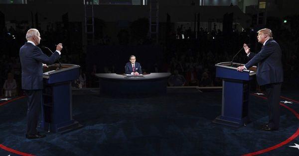 Joe Biden to blustering Donald Trump at debate: 'Will you shut up, man'