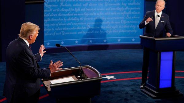 TV-Duell in den USA: Wie Trump und Biden punkten wollten