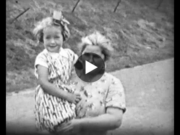 OUDE WETERING - Beelden uit 1954 van het gebied en de mensen rond de Wetering (video)