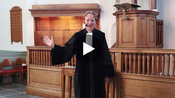 WOUBRUGGE - Online kinderdienst Dorpskerk Woubrugge zondag 27 september (video)