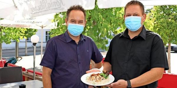 Mittags in Greifswald: Im Poro machen Königsberger Klopse das Rennen