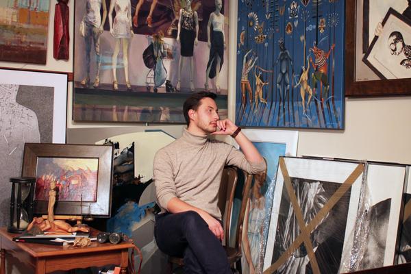 Łukasz Wiącek and his collection