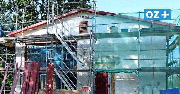 In Morgenitz wird ein Gerätehaus der Feuerwehr zum Bürgerhaus