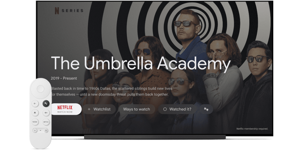 Chromecast with Google TV attempts to revive Android TV for the streaming wars