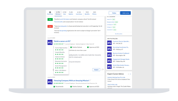Glassdoor launches employee reviews for diversity and inclusion practices at companies
