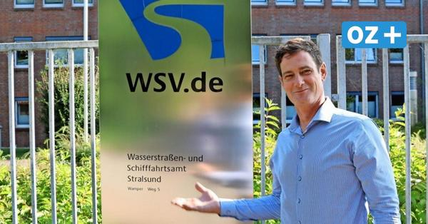 Stralsund: Steffen Grammann baut das Wasserstraßen- und Schifffahrtsamt der Zukunft auf