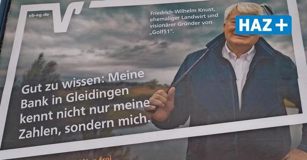 Laatzen-Gleidingen: CDU-Politiker wirbt für Volksbank-Filiale – obwohl die bald schließt
