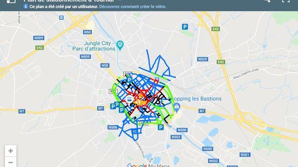 Nouveau plan de stationnement à Tournai - Nieuw parkeerplan in Doornik