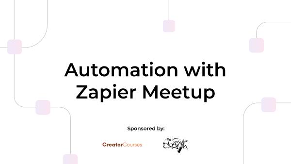 Automation with Zapier (Denver, CO) | Meetup