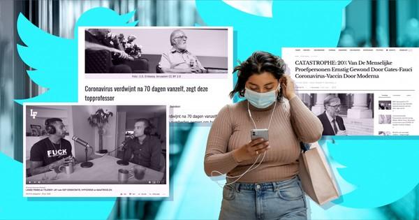 Zeker 50 Twitter-trollen verspreiden misinformatie COVID-19 in Nederland