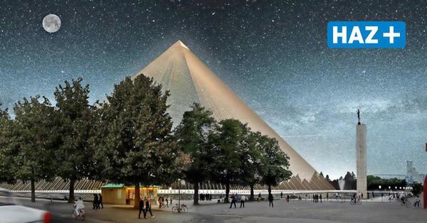 Installation in Hannover: Kamel Louafi will auf dem Maschsee eine Pyramide schwimmen lassen