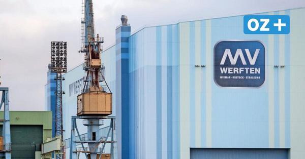 Landesregierung zu MV Werften: 193Millionen vom Bund sollen schnell fließen