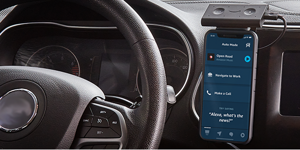 Amazon launches Alexa smartphone app features for car commuters