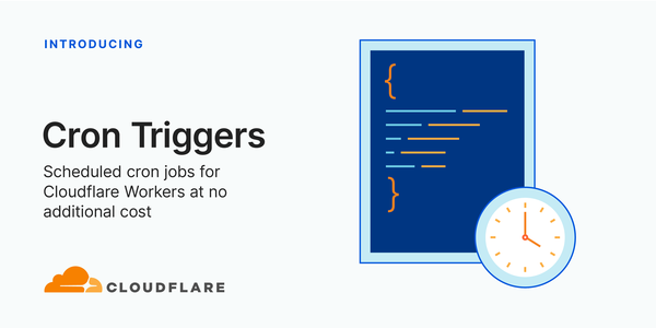 Cron Triggers for Cloudflare Workers