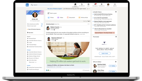 LinkedIn Launches Stories