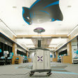The Carolina Panthers will use a $125,000 virus-killing robot in their stadium as fans return with Covid-19 restrictions