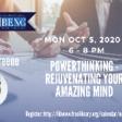 PowerThinking: Rejuvenating Your Amazing Mind - Events - Free Library