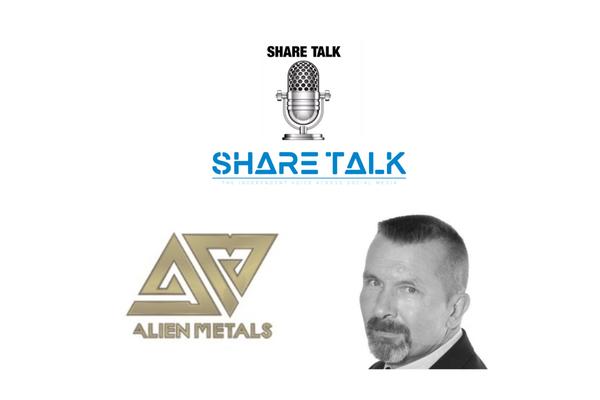 Bill Brodie Good, Technical Director of Alien Metals (UFO.L) Interview