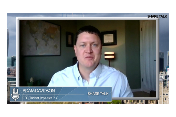 Adam Davidson, Chief Executive Officer of Trident Royalties. (TRR.L) Video Update