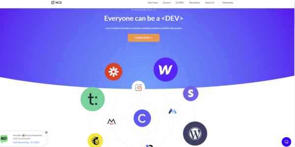 NoCodeDevs 2.0 - The network for #nocode makers | Product Hunt