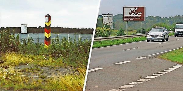 Deutsche Teilung: So sahen Grenz-Orte vor der Wende aus – und so heute