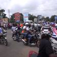 Okada riders swarm Bawumia as he embarks on Accra tour