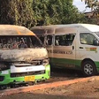STC bus attacked by alleged secessionist group, drivers beaten, bus burnt